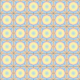 Безшовная винтажная абстрактная безшовная картина Стоковая Фотография