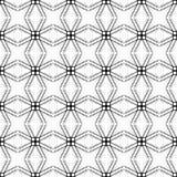 Безшовная винтажная классическая круглая картина шнурков Стоковая Фотография RF