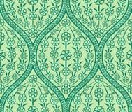 Безшовная востоковедная флористическая картина Стоковое фото RF