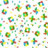 Безшовная восьмибитовая текстура вектора цвета Стоковое фото RF