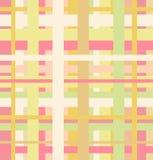 Безшовная геометрическая линейная картина Стоковое Фото