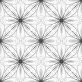 Безшовная геометрическая иллюстрация вектора орнамента Стоковое Изображение