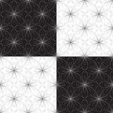 Безшовная геометрическая иллюстрация вектора орнамента Стоковые Фото