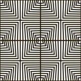 Безшовная геометрическая картина вектора Стоковое Изображение RF