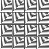 Безшовная геометрическая картина вектора Стоковая Фотография RF