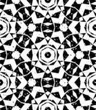 Безшовная геометрическая картина в современном стиле битника иллюстрация штока