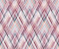 Безшовная геометрическая картина в стиле boho Африканский мотив, абстрактный Стоковое Фото