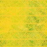 Безшовная геометрическая картина в стиле boho Желтый shad акварели Стоковое Фото