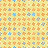 Безшовная геометрическая картина в ярких цветах Стоковые Фото