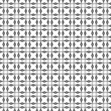 Безшовная геометрическая картина в Mono линии стиле Смогите быть использовано как предпосылка или stylize Стоковые Изображения