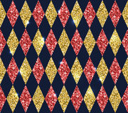 Безшовная геометрическая картина косоугольников Стоковое фото RF