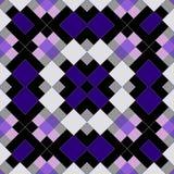Безшовная геометрическая картина мозаики квадратов Стоковое Изображение RF