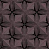 Безшовная геометрическая картина с влиянием 3d Стоковая Фотография RF
