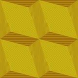 Безшовная геометрическая картина с влиянием 3d Стоковое Изображение RF