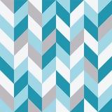 Безшовная геометрическая картина с зигзагами Стоковые Фото
