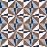 Безшовная геометрическая картина с треугольниками Стоковое фото RF