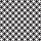 Безшовная геометрическая картина текстуры перекрывая кругов и квадратов бесплатная иллюстрация