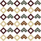 Безшовная геометрическая картина форм Стоковое фото RF