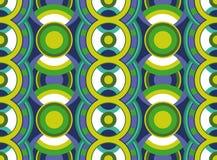 Безшовная геометрическая картина Стоковое Изображение RF