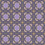 Безшовная геометрическая картина Стоковая Фотография