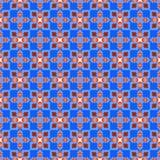 Безшовная геометрическая картина Стоковые Изображения