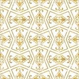 Безшовная геометрическая картина tiling Стоковое Фото