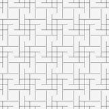 Безшовная геометрическая линия картина кубов вектора решетки иллюстрация штока
