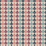 Безшовная геометрическая пестротканая родная картина Стоковые Фото