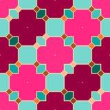 Безшовная геометрическая предпосылка картины иллюстрация вектора