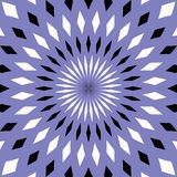 Безшовная геометрическая предпосылка картины иллюстрация штока