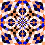 Безшовная геометрическая предпосылка картины бесплатная иллюстрация