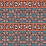 Безшовная геометрическая плитка картины Стоковая Фотография
