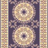 Безшовная геометрическая плитка картины Стоковое Изображение