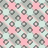 Безшовная геометрическая ретро картина -  Стоковые Фотографии RF