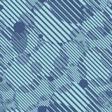 Безшовная геометрическая современная картина Стоковые Фото