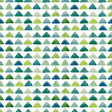 Безшовная геометрическая текстура с треугольниками акварели яркими голубыми бесплатная иллюстрация