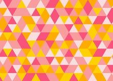Безшовная геометрическая текстура треугольника Справочная информация Стоковая Фотография RF