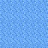 Безшовная голубая картина с цветками Стоковое Фото