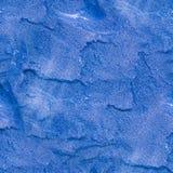 Безшовная голубая предпосылка гранита геологохимический, текстура Стоковое Изображение