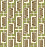 Безшовная графическая текстура, картина мозаики бесконечная Стоковые Фотографии RF
