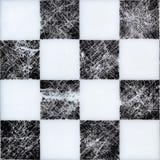 Безшовная доска на верхней части Черно-белая текстура с царапинами стоковые изображения