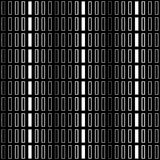 Безшовная декоративная предпосылка с геометрическими формами иллюстрация вектора