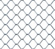 Безшовная загородка Chainlink иллюстрация вектора