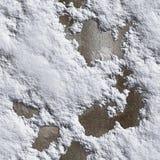 Безшовная земля зимы текстуры Стоковое Изображение RF