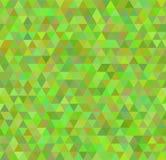 Безшовная зеленая картина предпосылки Стоковое Изображение RF