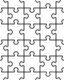 Безшовная иллюстрация головоломки Стоковое Изображение