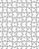 Безшовная иллюстрация головоломки Стоковое Изображение RF