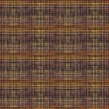 Безшовная имитация грубой ткани, мешковины, коричневой предпосылки иллюстрация штока
