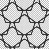 Безшовная линейная картина, геометрические формы, решетка Стоковая Фотография RF