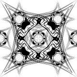Безшовная иллюстрация вектора картины Стоковое Фото